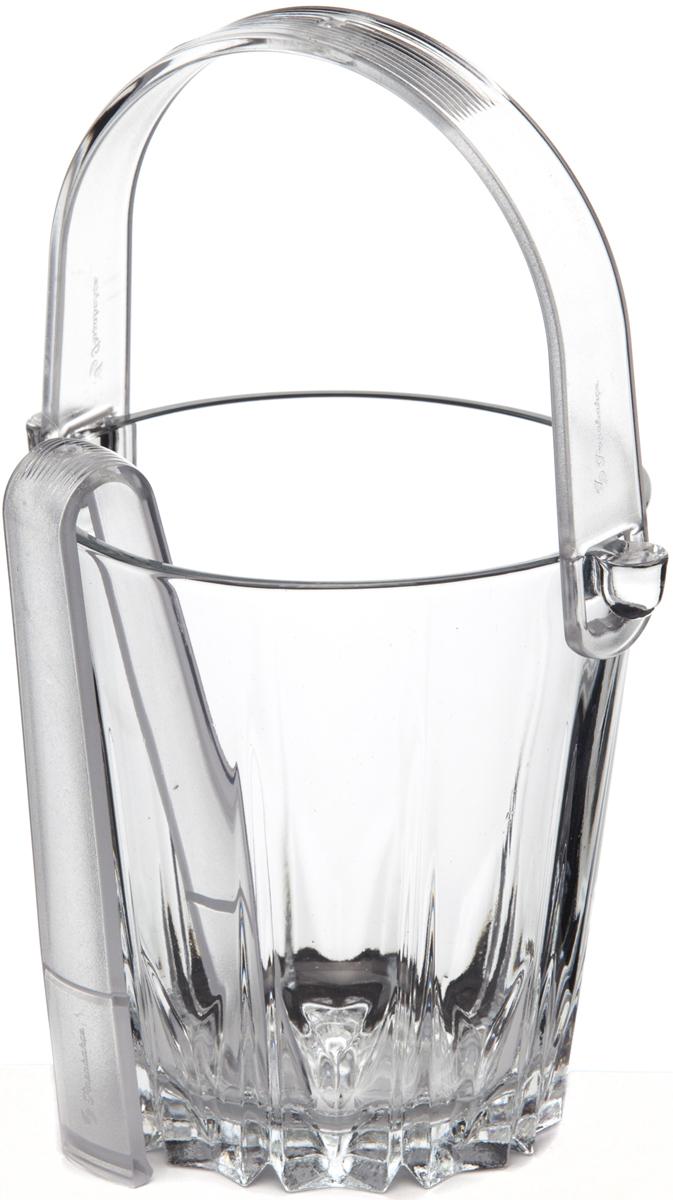 Ведерко для льда Pasabahce Karat, со щипцами, 13 см. 53588SLB53588SLBВедро для льда из прозрачного силикатного стекла торговой марки Pasabahce c пластиковой ручкой. В комплекте предусмотрены пластиковые щипцы. Емкость для льда будет актуальна банкетах и фуршетах, если в меню есть напитки, которые следует подавать со льдом. Кроме того, емкость со льдом - изысканный аксессуар праздничной сервировки.Качественный уровень изделий из стекла компании Pasabahce - результат опыта нескольких десятилетий в области стеклоделия. Вся продукция компании Pasabahce подвергается строгому контролю качества через все стадии производства и коммерческих услуг. Качественная стеклянная посуда специально разработана для foodservice сектора и имеет широкую ассортиментную линейку для различных потребностей. Емкости для льда изготовлены из непористого стекла. Благодаря высокому уровню применяемых технологий изделия могут использоваться на протяжении многих лет, не утрачивая эстетической привлекательности и оставаясь функциональными и современными.