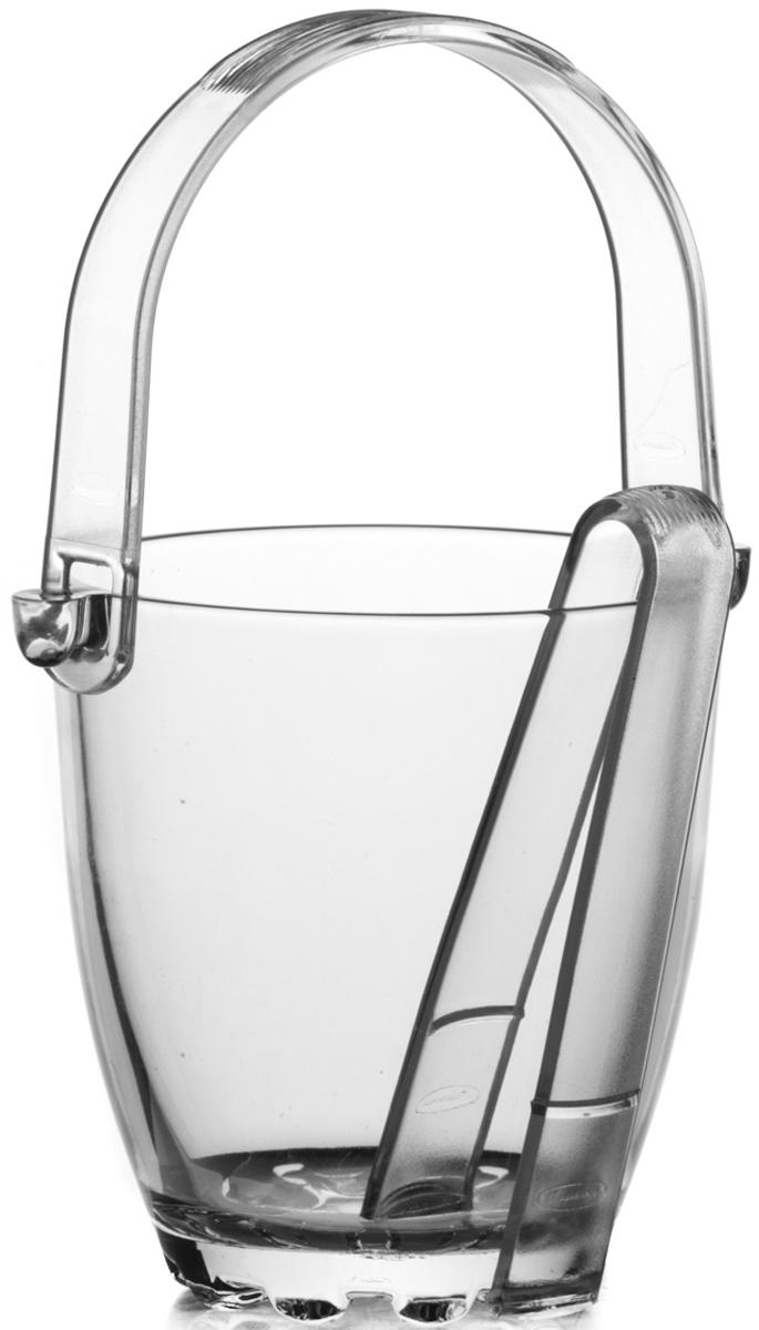 Ведерко для льда Pasabahce Sylvana, со щипцами, 13 см. 53628SLB53628SLBВедро для льда из прозрачного силикатного стекла торговой марки Pasabahce c пластиковой ручкой. В комплекте предусмотрены пластиковые щипцы. Емкость для льда будет актуальна банкетах и фуршетах, если в меню есть напитки, которые следует подавать со льдом. Кроме того, емкость со льдом - изысканный аксессуар праздничной сервировки.Качественный уровень изделий из стекла компании Pasabahce - результат опыта нескольких десятилетий в области стеклоделия. Вся продукция компании Pasabahce подвергается строгому контролю качества через все стадии производства и коммерческих услуг. Качественная стеклянная посуда специально разработана для foodservice сектора и имеет широкую ассортиментную линейку для различных потребностей. Емкости для льда изготовлены из непористого стекла. Благодаря высокому уровню применяемых технологий изделия могут использоваться на протяжении многих лет, не утрачивая эстетической привлекательности и оставаясь функциональными и современными.