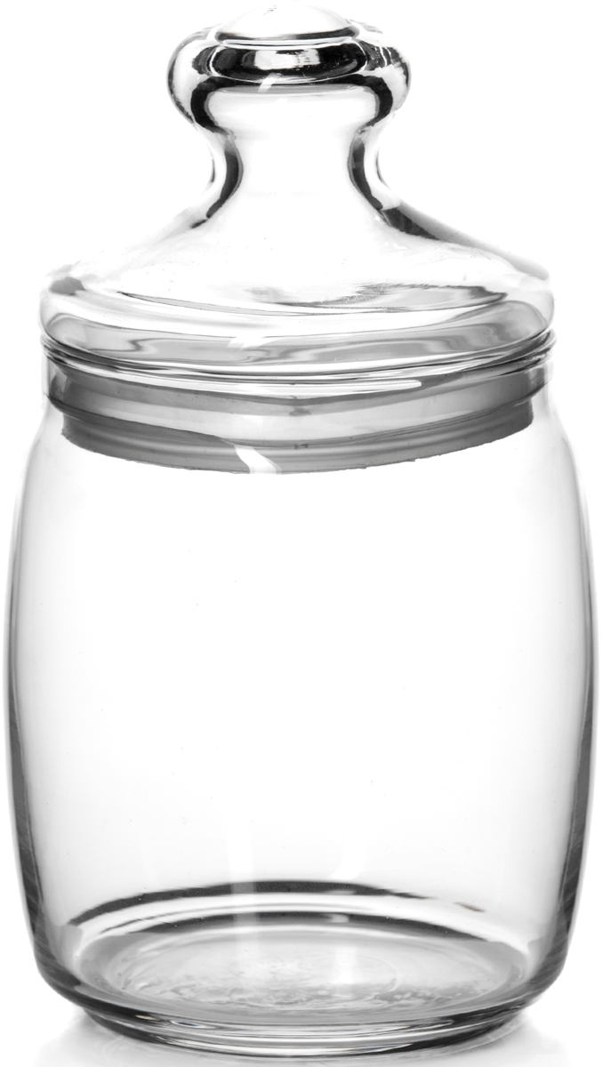 Банка для сыпучих продуктов Pasabahce Cesni, с крышкой, 920 мл97560SLBБанка с крышкой CESNI V=950мл h=190мм (прозрачное стекло)