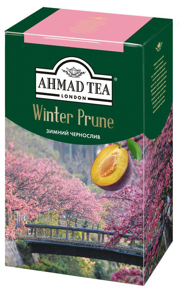 Ahmad Tea Winter Prune, 100 г1196-024Сладкий, насыщенный, с легкой кислинкой вкус чернослива обрамляет букет восхитительного китайского черного чая в композиции Ahmad Winter Prune, подобно прозрачному бриллианту в драгоценной оправе. В Японии и Китае дерево сливы начинает цветение в конце зимы, благодаря чему цветок сливы считается символом весны, торжествующей над зимой.Уважаемые клиенты! Обращаем ваше внимание на то, что упаковка может иметь несколько видов дизайна. Поставка осуществляется в зависимости от наличия на складе.Всё о чае: сорта, факты, советы по выбору и употреблению. Статья OZON Гид
