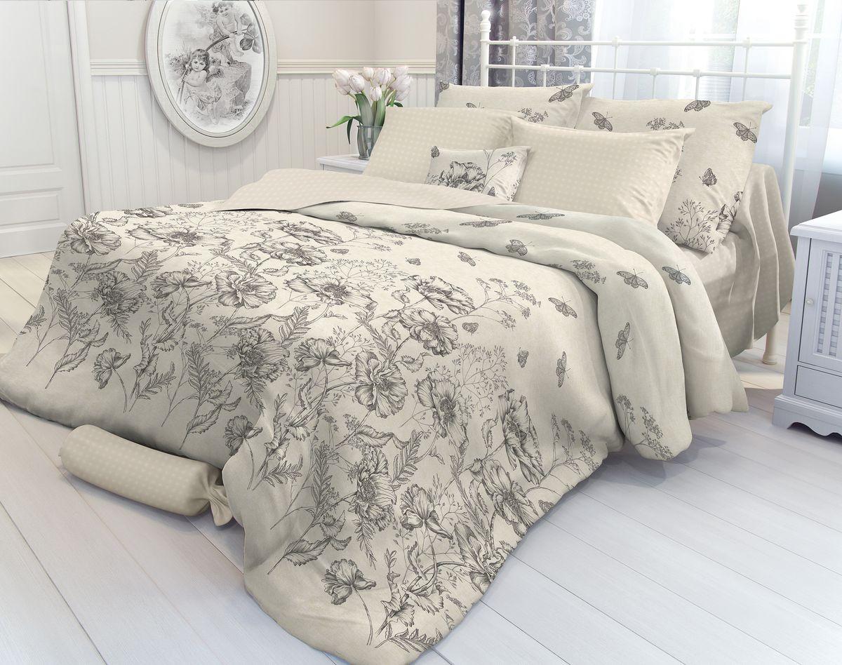 Комплект белья Verossa Gravure, 2-спальный, наволочки 50х70. 707016 комплект белья verossa amber  1 5 спальный  наволочки 50х70