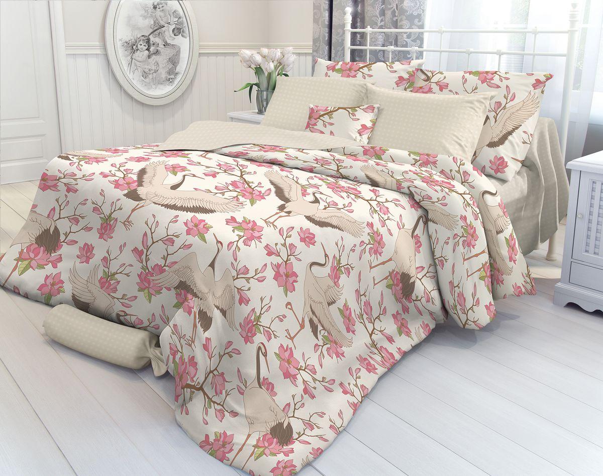 Комплект белья Verossa Magnolia, 2-спальный, наволочки 50х70. 707017 комплект белья verossa magnolia 1 5 спальный наволочки 70х70 706989