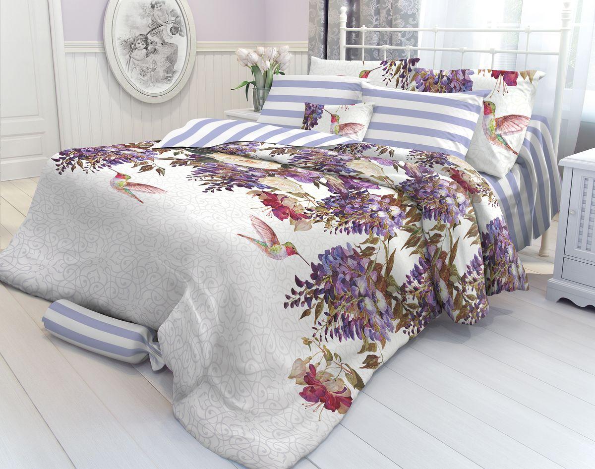Комплект белья Verossa Colibri, 1,5-спальный, наволочки 70х70. 707448707448