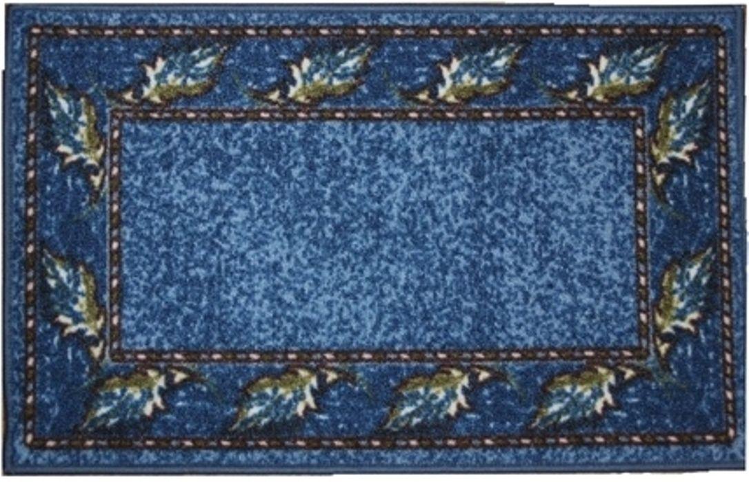 Влагонепроницаемый коврик на резиновой основе подойдет для любого интерьера в гостиной, ванной или прихожей.  Легко моется и чистится.  Размер ковра 44 x 70 см.