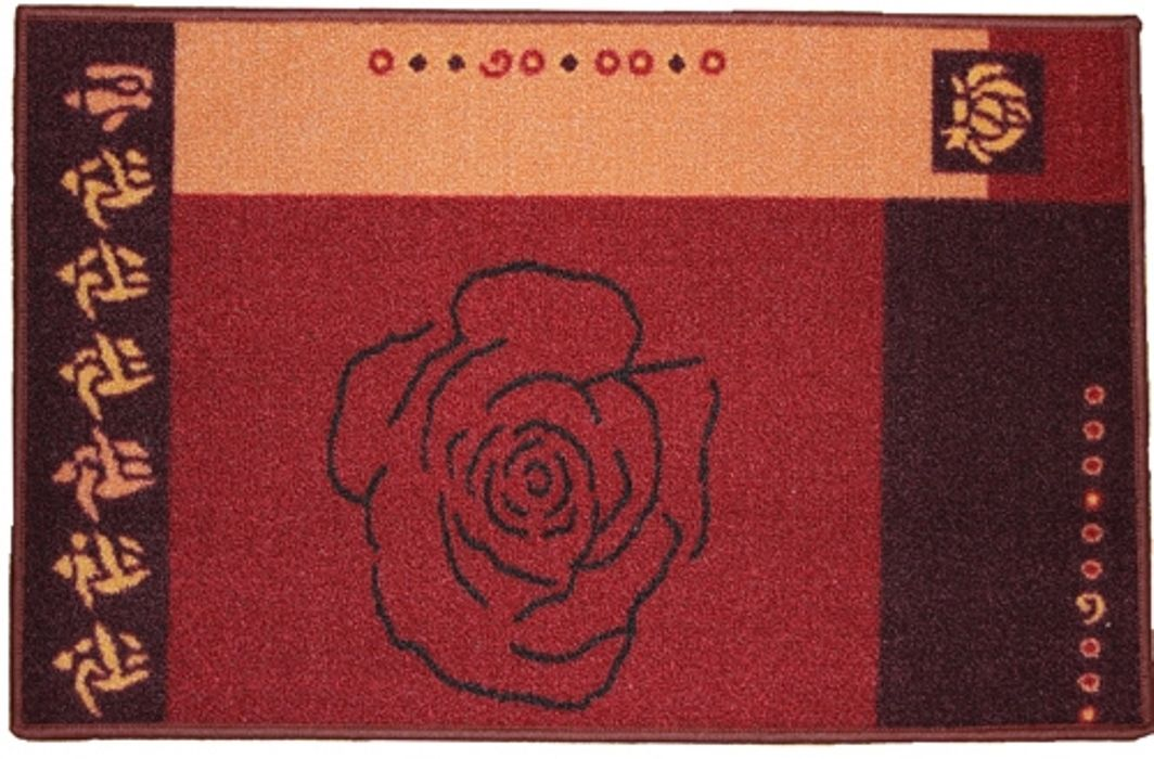 Ковер МАС Розетта. Роза, 50 x 76 см23628/розаВлагонепроницаемый коврик на резиновой основе подойдет для любого интерьера в гостиной, ванной или прихожей. Легко моется и чистится.