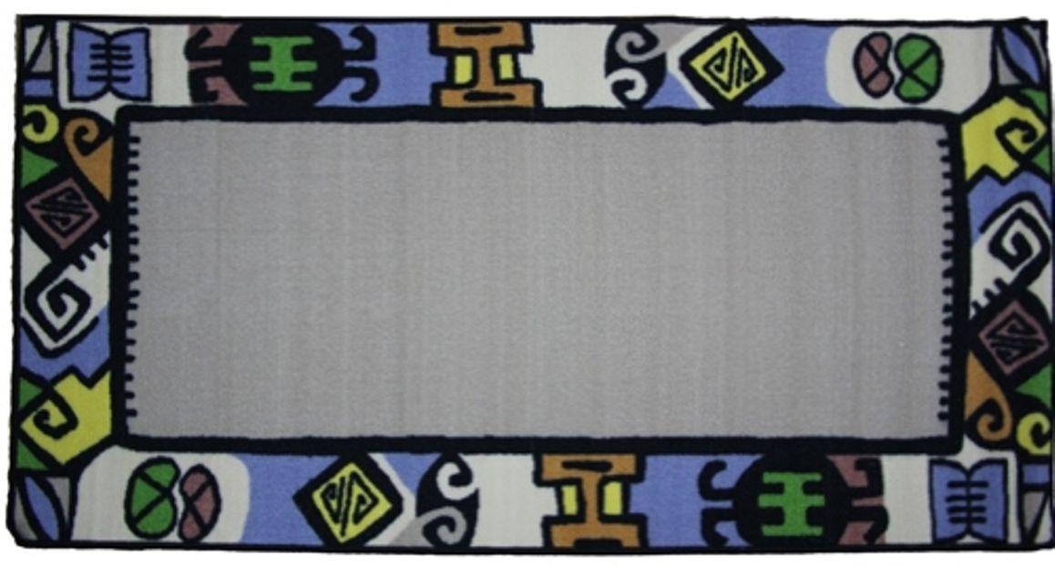 Ковер МАС Розетта, цвет: бежевый, 80 x 150 см23629/бежевыйВлагонепроницаемый коврик на резиновой основе подойдет для любого интерьера в гостиной, ванной или прихожей. Легко моется и чистится.