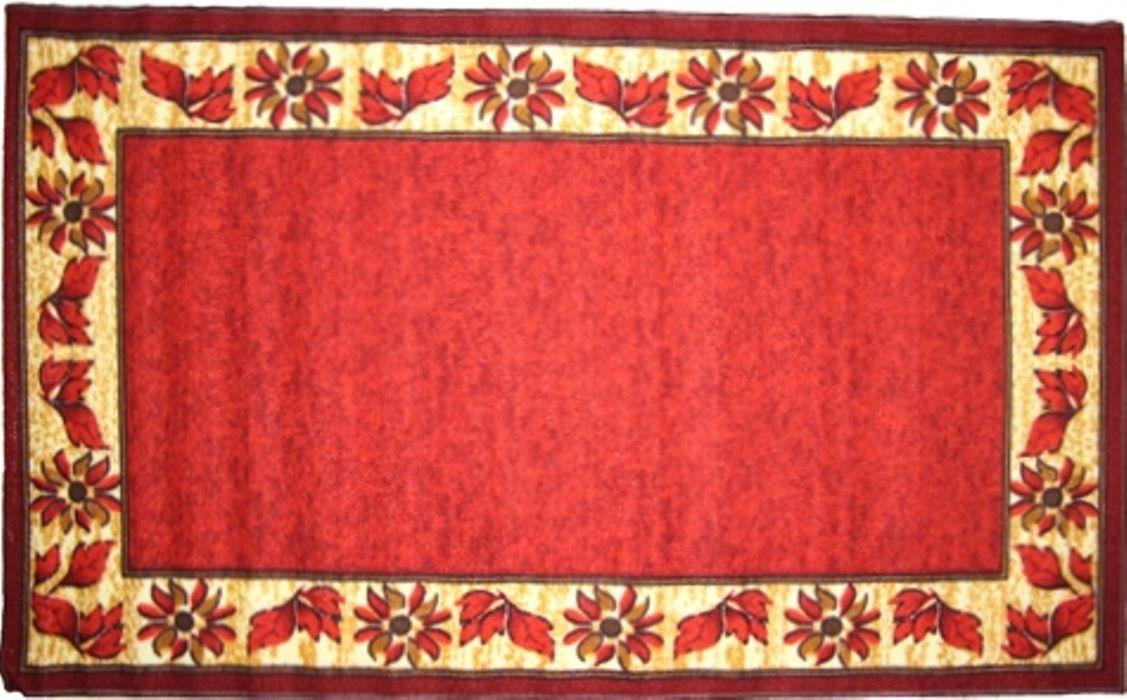 Ковер МАС Розетта, цвет: красный, 100 x 160 см23636/красныйВлагонепроницаемый коврик на резиновой основе подойдет для любого интерьера в гостиной, ванной или прихожей. Легко моется и чистится.