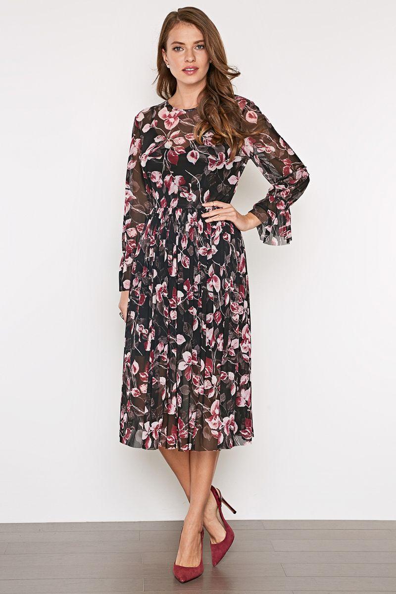 Платье женское Concept Club Samo, цвет: мультиколор. 10200200410_8000. Размер XXS (40)10200200410_8000