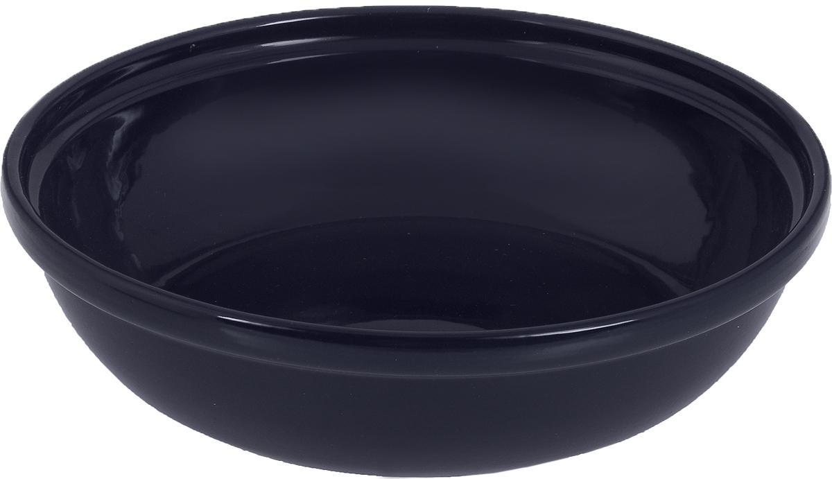 Салатник Борисовская керамика Модерн, цвет: темно-синий, 1 лРАД00000830_тем. синийСалатник Борисовская керамика Модерн выполнен из высококачественнойглазурованной керамики. Этот удобный салатник придется по вкусу любителямздоровой и полезной пищи. Благодаря современной удобной форме, изделиемногофункционально и может использоваться хозяйками на кухне как в видесалатника, так и для запекания продуктов, с последующим хранением в немприготовленной пищи.Посуда термостойкая. Можно использовать в духовке и микроволновой печи.Диаметр (по верхнему краю): 22 см. Высота стенки: 6 см.
