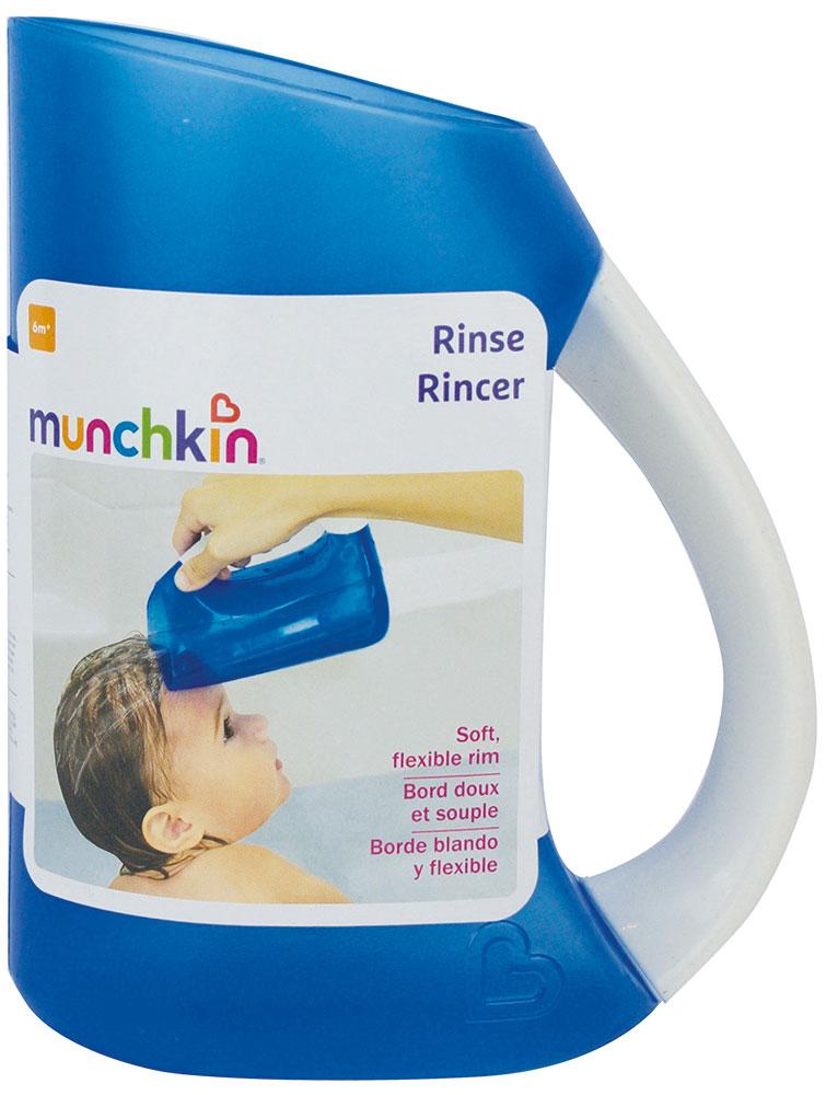 Munchkin Кувшин для мытья волос цвет синий детский ковшик munchkin мягкий кувшин для мытья волос от 6 мес розовый