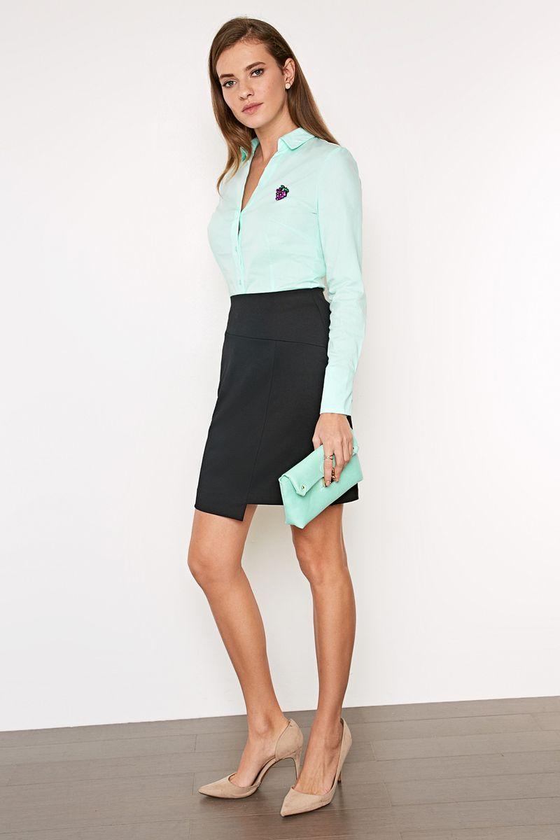 Юбка женская Concept Club Uzna, цвет: черный. 10200180227_100. Размер XL (50)10200180227_100