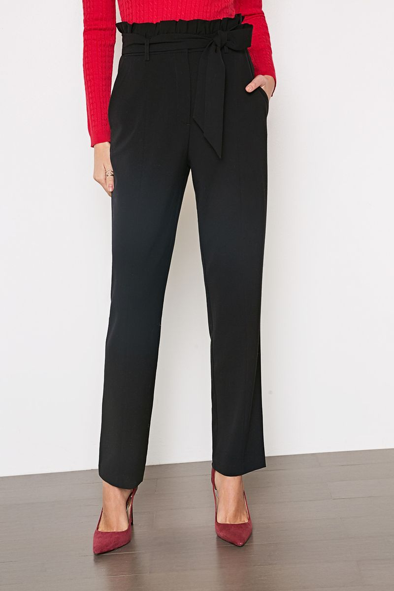 Брюки женские Concept Club Neha, цвет: черный. 10200160269_100. Размер XL (50) джинсы женские concept club цвет черный 10200160279 100 размер xl 50