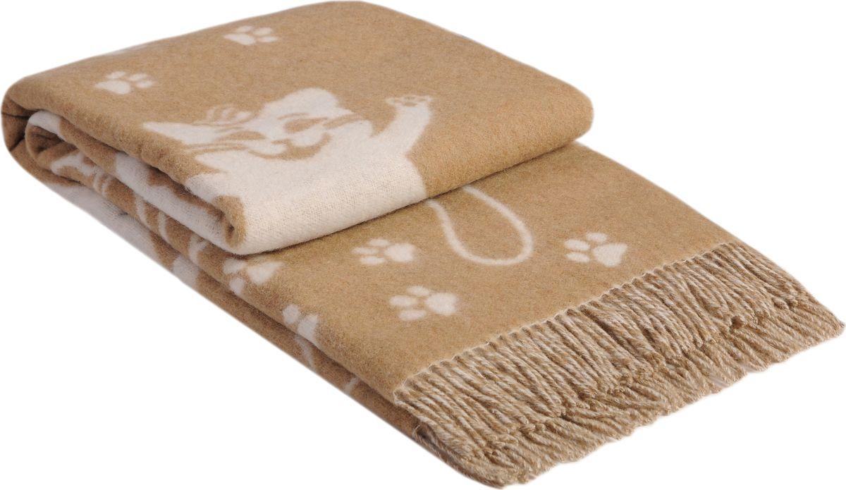 Плед Vladi Cats, цвет: белый, бежевый, 140 х 200 см02805Плед «Cats» по рисунку и качеству не имеет аналогов на рынке, выгодно отличаясь от привычных дизайнов своей необычной расцветкой. На этом жаккардовом пледе воспроизведены кошки, которые внесут изысканный шарм в Ваш дом. Оригинальный дизайн придется по вкусу как любителям животных, так и поклонникам необычного стиля.