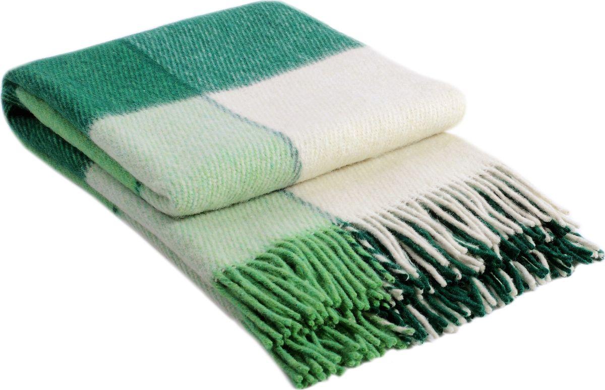 Плед Vladi Эльф1, цвет: белый, салатовый, зеленый, 140 х 200 см00149Коллекция пледов Эльф представлена в более чем в 50-ти разнообразных расцветках. Классическая шотландская клетка на любой вкус, качественная натуральная шерсть и практичность пледов «Эльф» доставят не только эстетическое удовольствие, но и принесут пользу своим теплом в холодное время года.