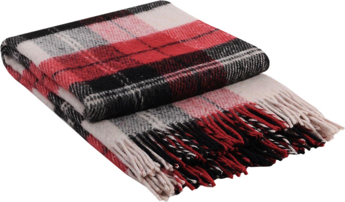 Плед Vladi Эльф, цвет: белый, красный, черный, 200 х 220 см01045Коллекция пледов «Эльф» самая обширная в нашем ассортименте – она представлена в более чем в 50-ти разнообразных расцветках. Классическая шотландская клетка на любой вкус, качественная натуральная шерсть и практичность пледов «Эльф» доставят Вам не только эстетическое удовольствие, но и принесут пользу своим теплом в холодное время года.