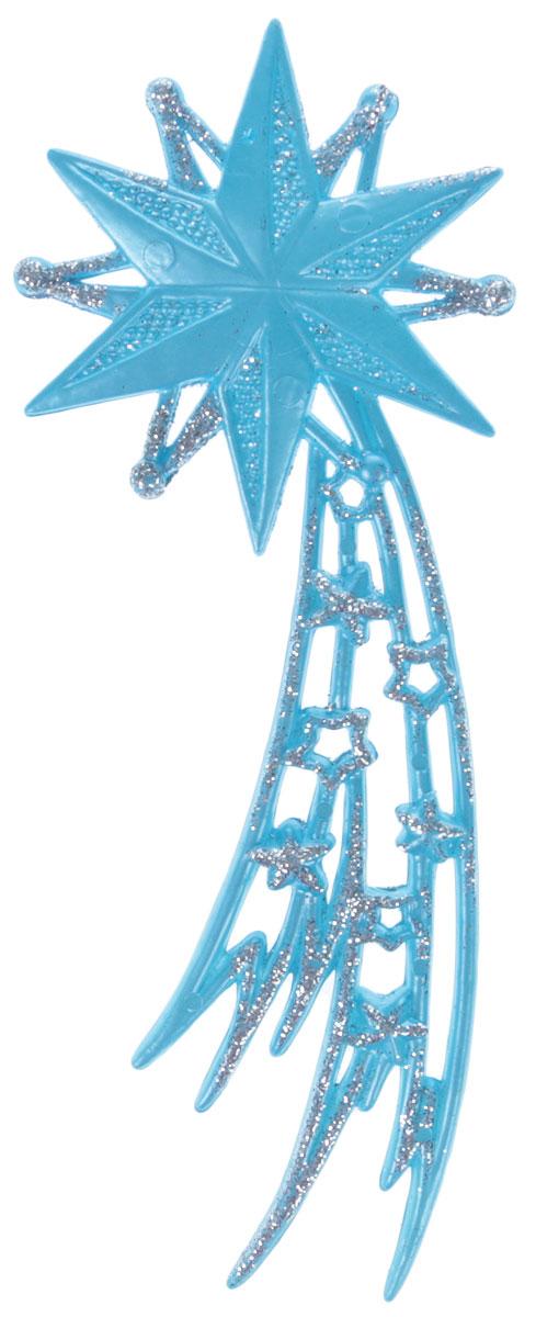 """Украшение для интерьера новогоднее House & Holder """"Звезда"""" изготовлена из прочного пластика  с блестящим напылением серебряных блесток.  Украшение можно повесить в самое видное  место в вашем доме при помощи петельки."""