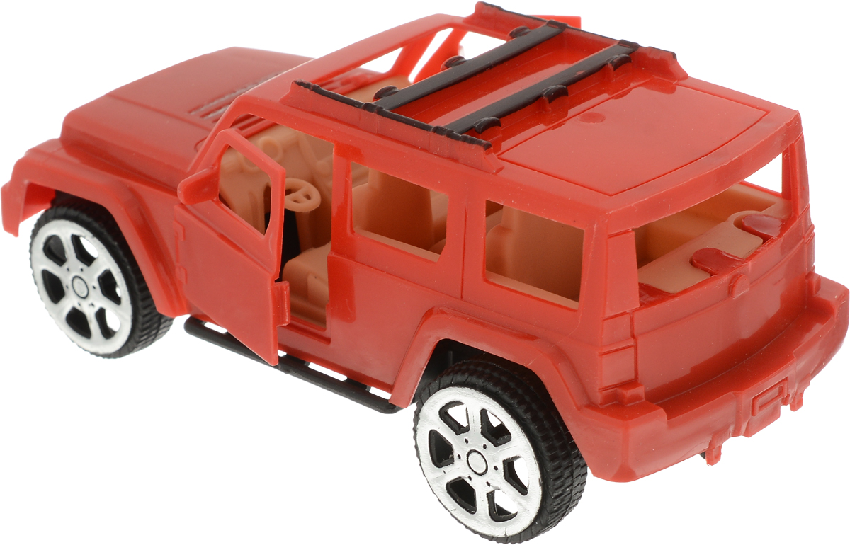 ABtoysИгровой набор Автозаправка цвет красный М6209 ABtoys