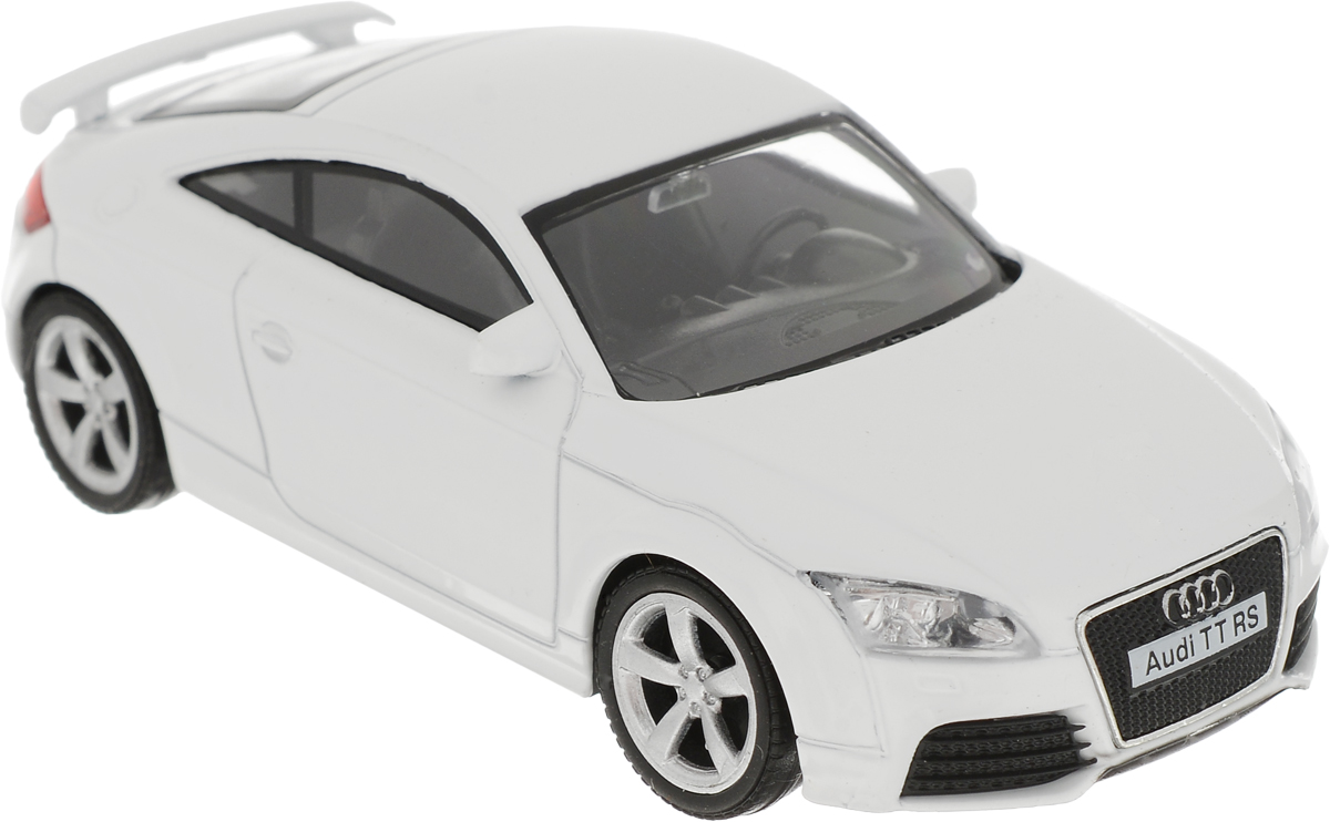 Autotime Модель автомобиля Audi TT Coupe  цвет белый autotime модель автомобиля uaz 39625 мчс россии
