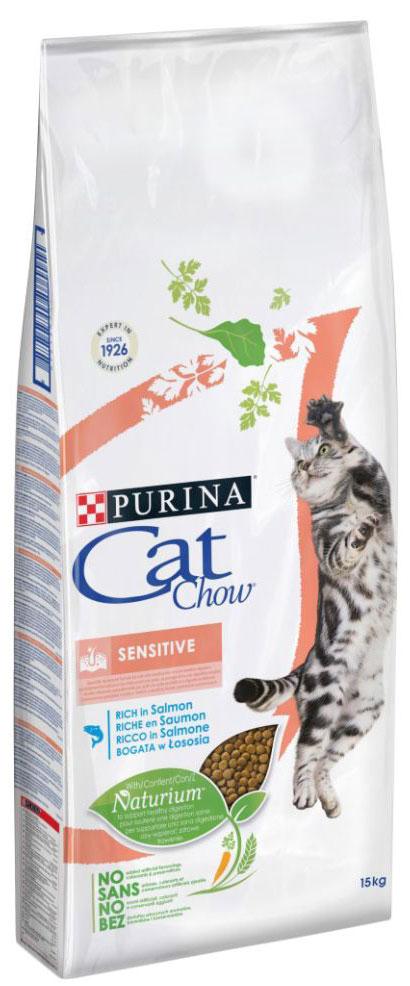 Корм сухой Cat Chow Special Care для кошек с чувствительным пищеварением, 15 кг12147057Корм сухой Cat Chow Special Care - полнорационный корм для кошек с чувствительным пищеварением, для здоровья кожи и шерсти. Сама природа вдохновляет компанию PURINA на разработку кормов, которые максимально отвечают потребностям ваших питомцев, с учетом их природных инстинктов. Имея более чем 80-ти летний опыт в области питания животных, PURINA создала новый корм Cat Chow - полностью сбалансированный корм, который не только доставит удовольствие вашей кошке, но и будет полезным для ее здоровья. Особенности корма Cat Chow Special Care:Высокое содержание мяса, с источниками высококачественного белка в каждой порции для поддержания оптимальной массы тела. Особое сочетание натуральных ингредиентов: тщательно отобранные травы и овощи (петрушка, шпинат, морковь, горох). Отборные ингредиенты придают особый аромат. Высокое содержание витамина Е для поддержания естественной защиты организма питомца. Содержит мякоть свеклы и цикорий для поддержания здорового пищеварения и уменьшения запаха от туалетного лотка. Специально разработанная формула: высокая усвояемость благодаря высококачественному белку, здоровые кожа и шерсть благодаря витаминам и Омега-3 и Омега-6 жирным кислотам. Состав: злаки, мясо и субпродукты (мясо 14%), экстракт растительного белка, масла и жиры, овощи (сухой корень цикория 2%, морковь 1,3%, шпинат 1,3%, зеленый горох 1,3%), продукты переработки овощей (сухая мякоть свеклы 2,7%, петрушка 0,4%), рыба и продукты переработки рыбы, минеральные вещества, дрожжи. Добавленные вещества (на 1 кг): витамин А 13500 МЕ; витамин D3 1150 МЕ; витамин Е 100 МЕ, железо 50 мг; йод 1,1 мг; медь 9 мг; марганец 5 мг; цинк 70 мг; селен 0,05 мг. С антиокислителями. Гарантируемые показатели: белок 36%, жир 14%, сырая зола 7,5%, сырая клетчатка 1,5%, Омега-3 жирные кислоты 0,2%, Омега-6 жирные кислоты 2,2%.Товар сертифицирован.Уважаемые клиенты! Обращаем ваше внимание на то, что упаковка может и