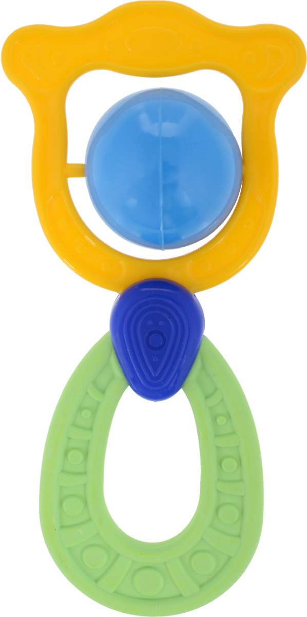 Пластмастер Погремушка Лилия цвет желтый зеленый