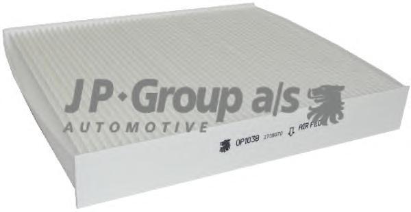 Фильтр салонный J+P Group 15281005001528100500
