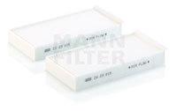 Купить Фильтр салонный MANN CU23015-2, 2 шт, Mann-Filter
