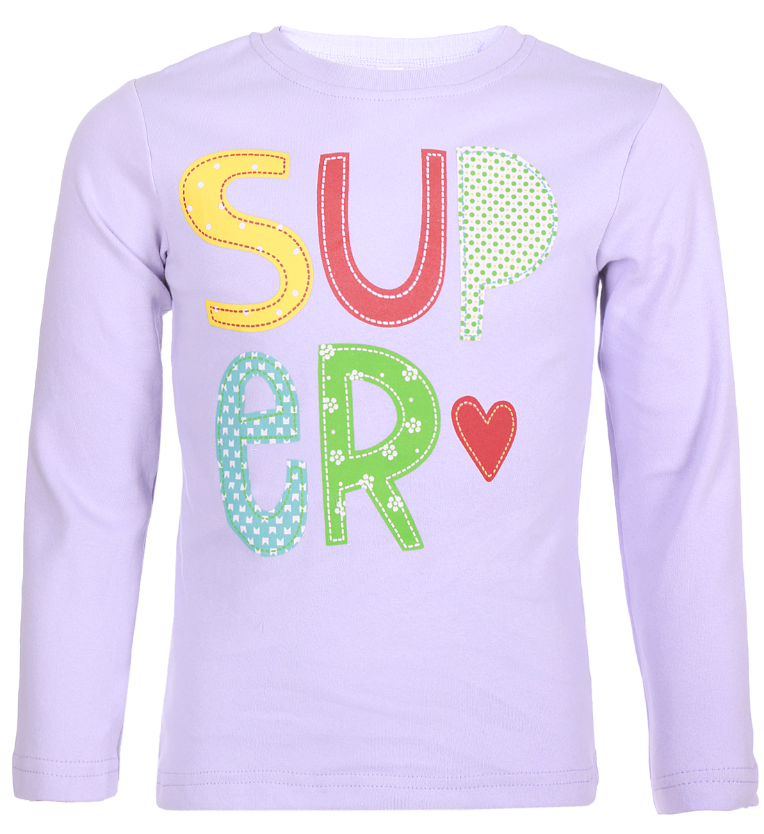 Джемпер для девочки Arge Fashion, цвет: фиолетовый. MRM-15B-42-12. Размер 122MRM-15B-42-12