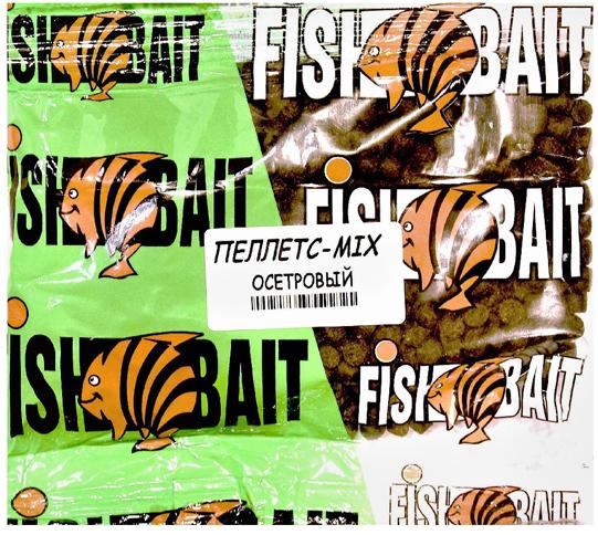 Пеллетс для холодной воды FishBait Ice Gold. Осетровый Mix, 0,25 кг