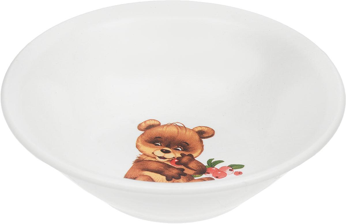 Фаянсовая детская посуда с забавным рисунком понравится каждому малышу. Изделие из качественного материала станет правильным выбором для повседневной эксплуатации и поможет превратить каждый прием пищи в радостное приключение. Особенности: - простота мойки, - стойкость к запахам, - насыщенный цвет.