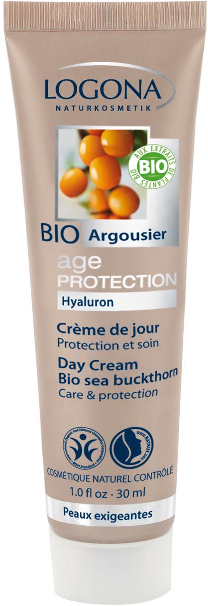 Logona Age Protection Крем дневной питательный против морщин с Био-Облепихой, 30 мл