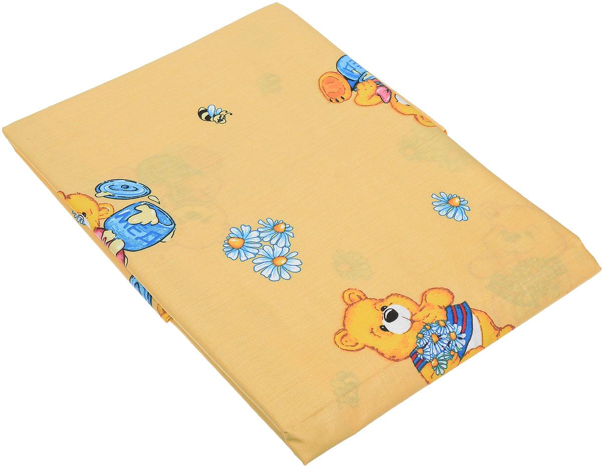 Primavelle Простыня детская Мишки цвет желтый 120 х 180 смCov--8