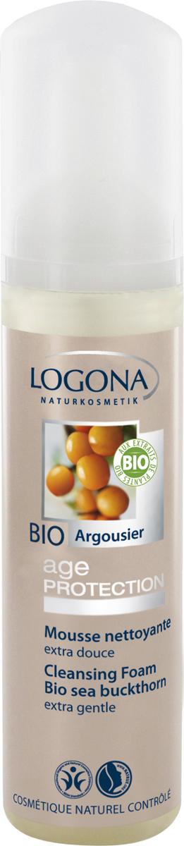 Logona Age Protection Пена для умывания против морщин с Био-Облепихой, 70 мл - Косметика по уходу за кожей