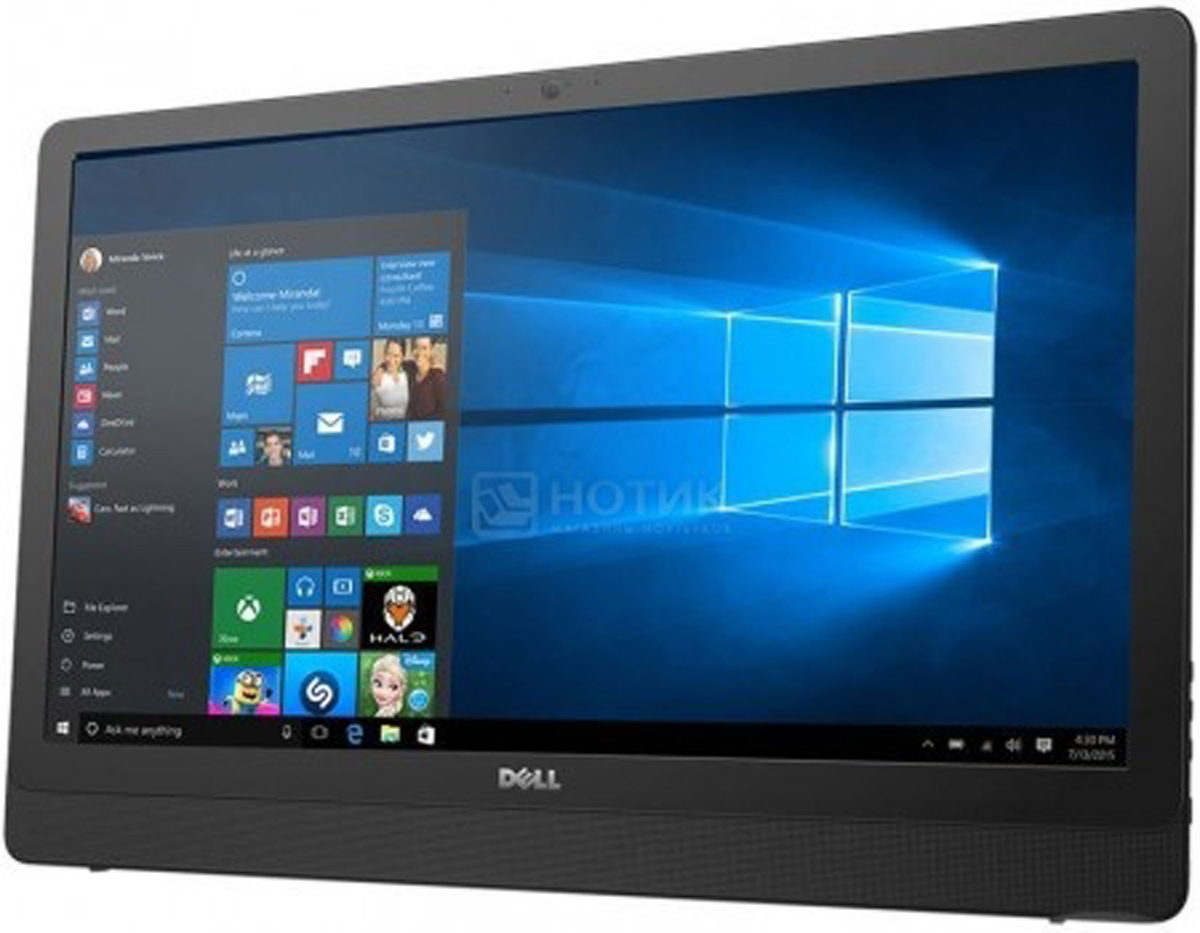 Dell Inspiron 3464-9101, Black моноблок