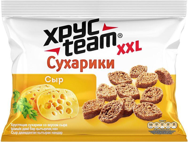 Хрусteam сухарики Сыр, 130 г