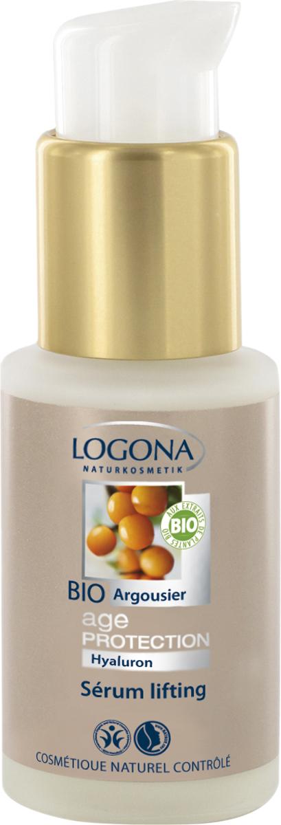 Logona Age Protection Подтягивающая сыворотка против морщин с Био-Облепихой, 30 мл