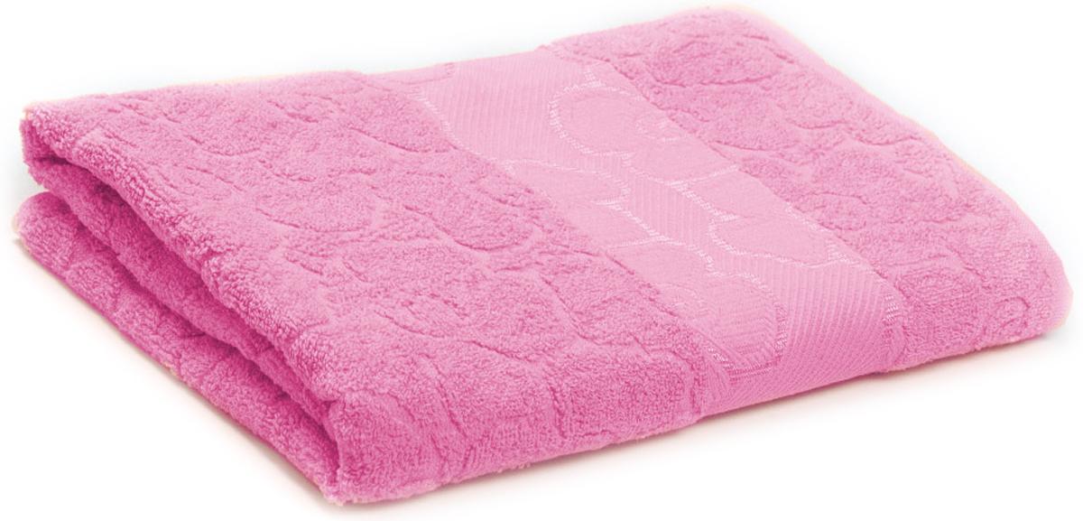 Полотенце махровое Португалия Viola, цвет: розовый, 70 x 140 см439234Махровые полотенца Португалия производятся из 100% хлопка - экологически чистого природного материала. Мягкое, легкое на ощупь, оно не намокает, а впитывает влагу, очень быстро сохнет.