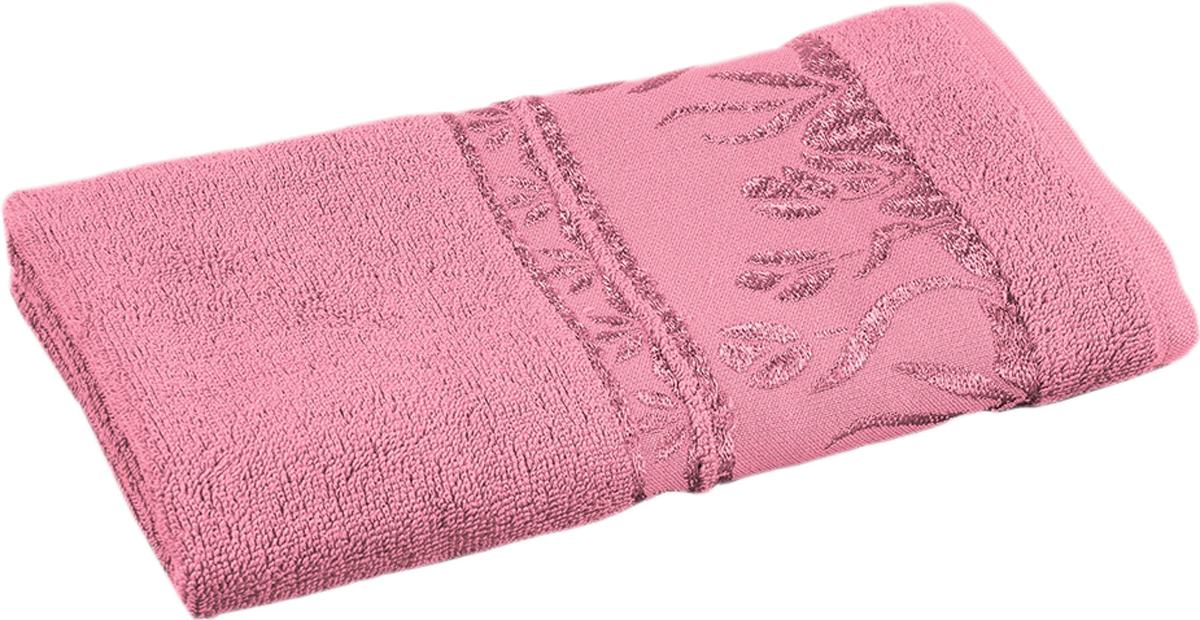 Полотенце махровое Португалия Tulip, цвет: ярко-розовый, 50 x 100 см439275Махровые полотенца Португалия производятся из 100% хлопка - экологически чистого природного материала. Мягкое, легкое на ощупь, оно не намокает, а впитывает влагу, очень быстро сохнет.