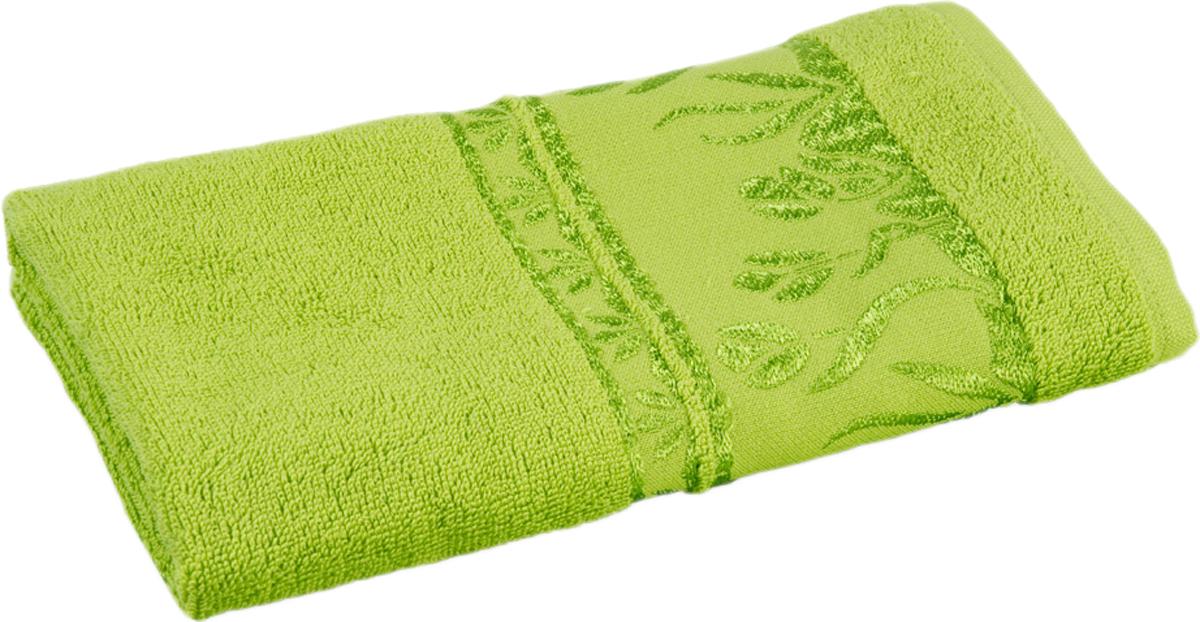 Полотенце махровое Португалия Tulip, цвет: зеленый, 50 x 100 см439266Махровые полотенца Португалия производятся из 100% хлопка - экологически чистого природного материала. Мягкое, легкое на ощупь, оно не намокает, а впитывает влагу, очень быстро сохнет.