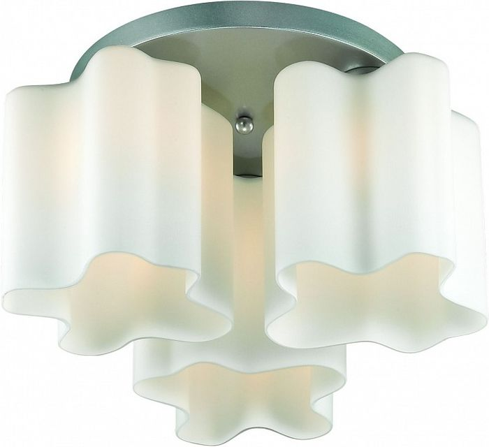 Люстра потолочная ST-Luce Onde, 3 х E27, 60W. SL116.502.03 светильник потолочный sonex blanketa gold 2 х e27 60w 102 k