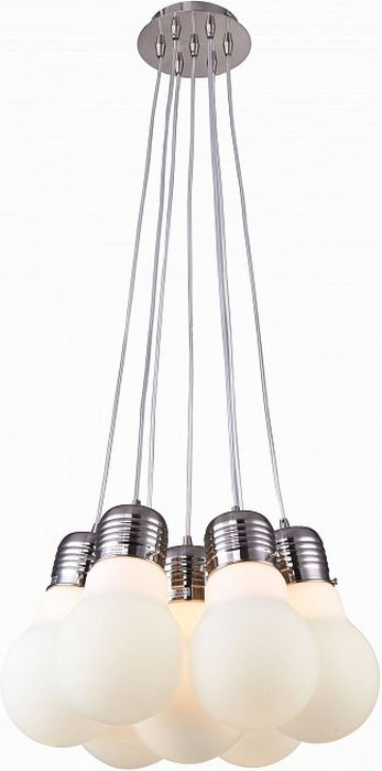 Светильник подвесной ST-Luce Buld, 7 х E27, 60W. SL299.553.07SL299.553.07Светильник подвесной ST-Luce Buld, 7 х E27, 60W. SL299.553.07