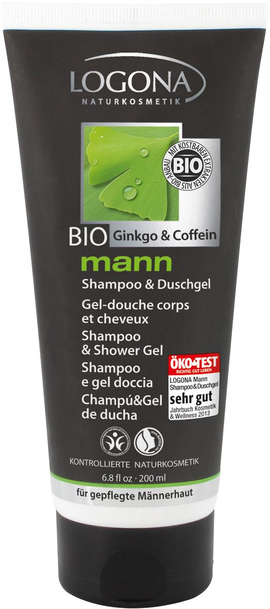 Logona Man Шампунь и Гель для душа, 200 мл02177Начните свой день бодро! 100% натуральный шампунь-гель для душа разработан с учетом особенностей кожи и волос у мужчин. Моющие ингредиенты исключительно растительного происхождения обеспечивают мягкое, но эффективное очищение. Кофеин укрепляет волосяную луковицу, экстракт гибкого билоба останавливает структуру волос и благотворно воздействует на кожу, бетаин из сахарной свеклы обеспечивает легкое расчесывания волос, а сок алоэ интенсивно увлажняет кожу тела и головы. Шампунь-гель обладает пряным, древесным ароматом.