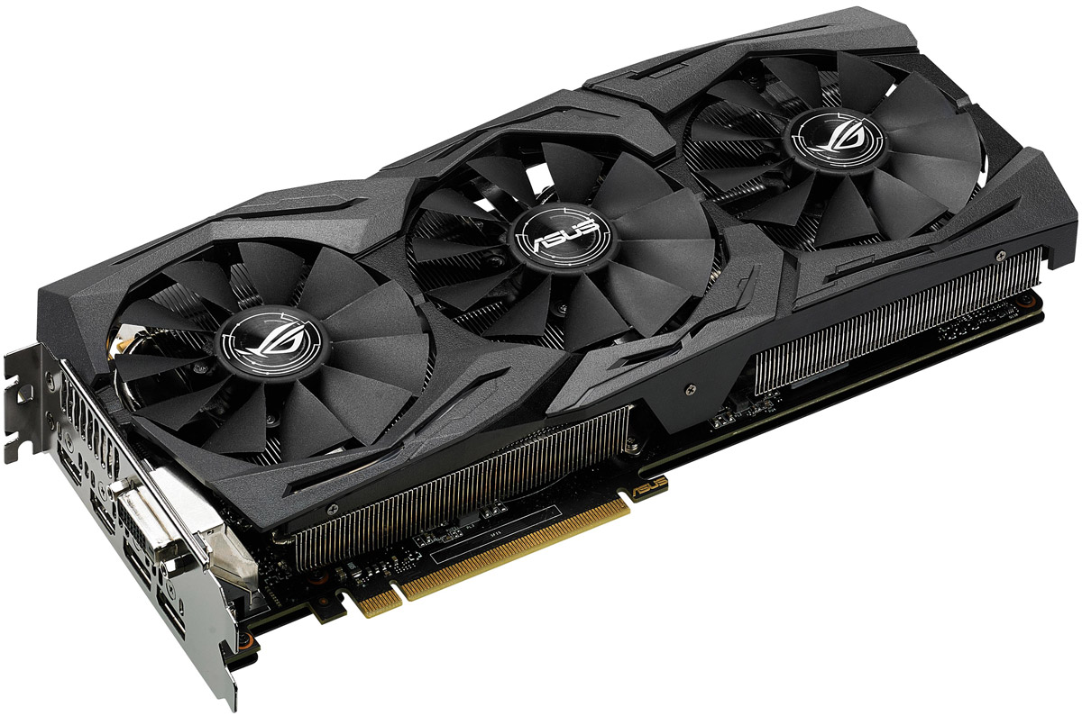 ASUS ROG Strix GeForce GTX 1080 Advanced 8GB видеокарта asus rog strix geforce gtx 1050 oc 2gb видеокарта