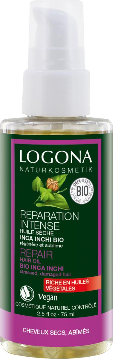 Logona Восстанавливающее масло для волос, 75 мл30223Уплотняет слабые, поврежденные волосы. Питательный насыщенный коктейль из био-масла арахиса инков, масла семян лопуха и масла семян винограда интенсивно восстанавливает и оздоравливает хрупкие, ослабленные волосы. Восстанавливающее масло LOGONA, не содержащее силиконов, ухаживает за волосами, не утяжеляя их, дарит им эластичность и блеск. Регулярное применение восстанавливающего масла для волос возвращает волосам природную гладкость и мягкость, упрощает процесс укладки.