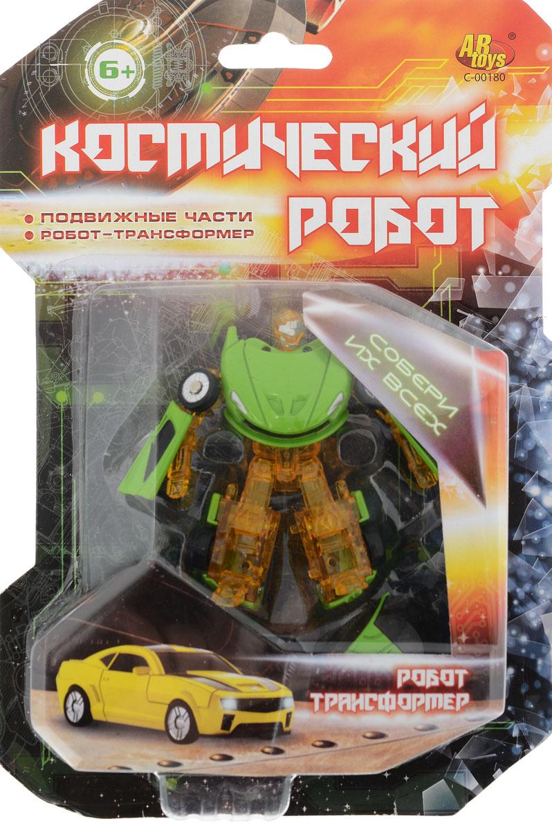 ABtoys Трансформер Космический робот цвет желтый, зеленый робот трансформер mengbadi 106 blue