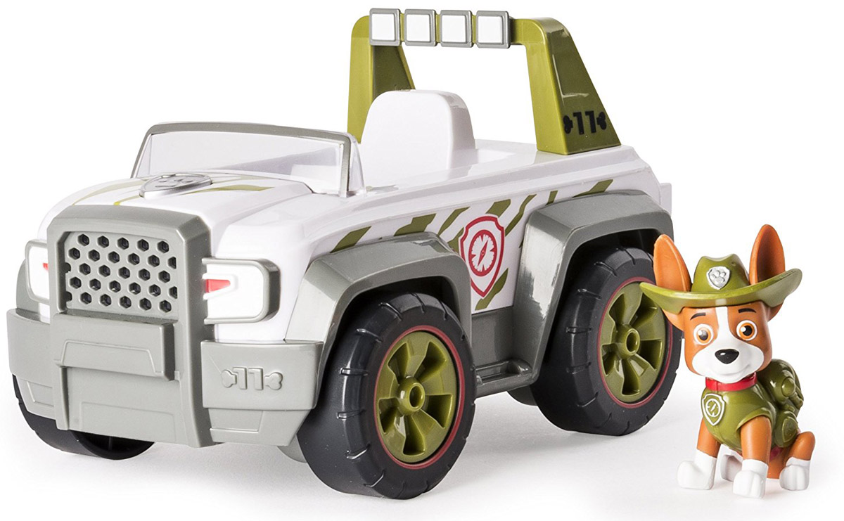 Paw Patrol Игровой набор Tracker's Jungle Cruiser