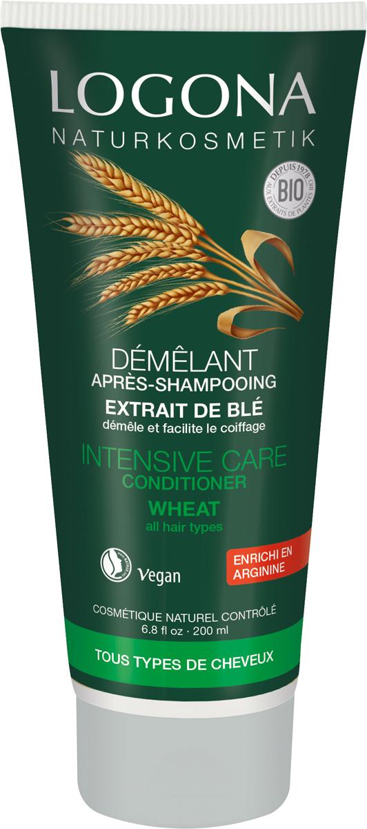Logona Кондиционер для волос с протеинами Пшеницы, 200 мл33201Ухаживает за всеми типами волос. Кондиционер для волос LOGONA с протеинами пшеницы обеспечивает волосам ежедневный уход и увлажнение. Компоненты растительного происхождения проникают в структуру волос, запаивают секущиеся кончики и восстанавливают волосы по всей длине. Натуральный бетаин, входящий в состав кондиционера, увлажняет и успокаивает кожу головы, делает волосы более гладкими и мягкими.