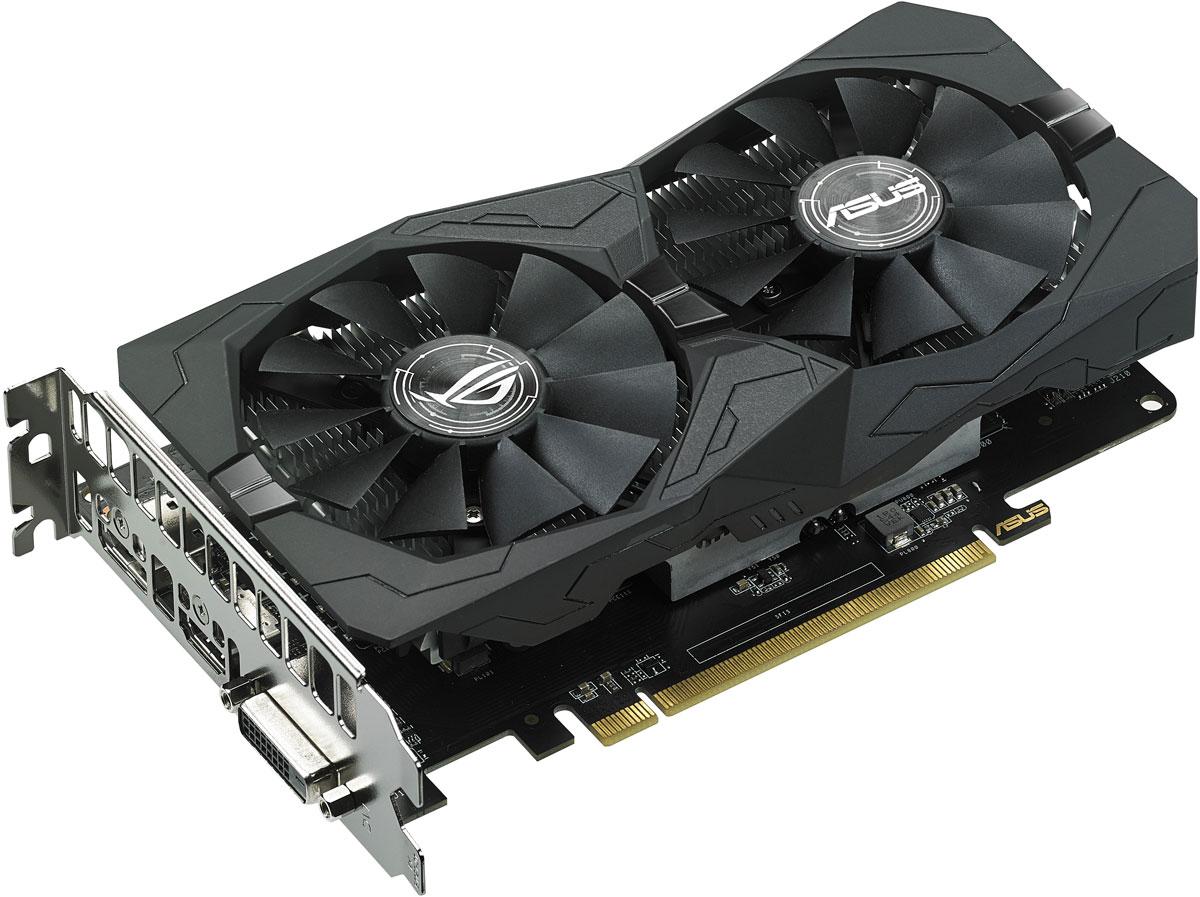 ASUS ROG Strix Radeon EVO RX 560 OC 4GB видеокарта система охлаждения для видеокарты