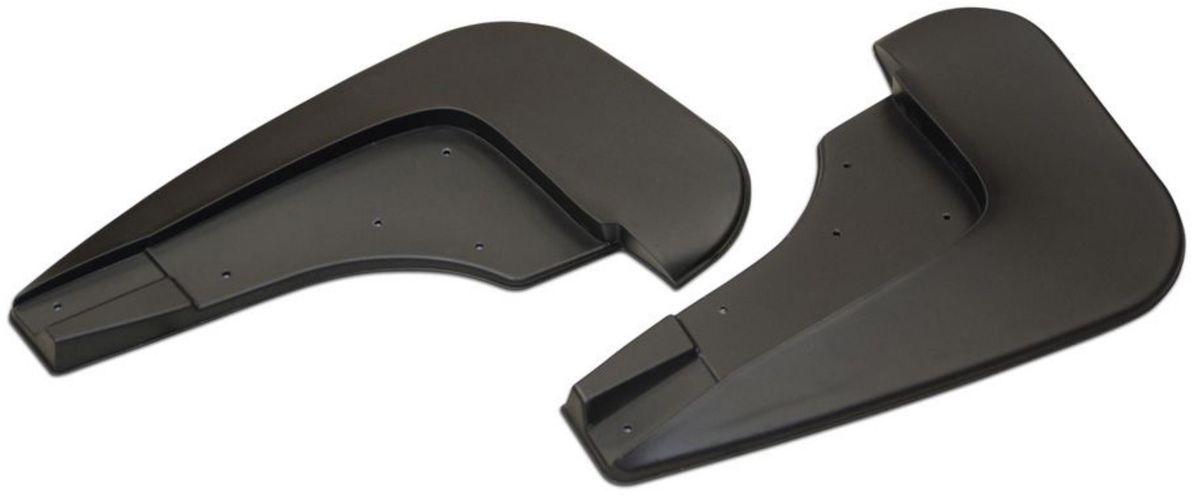 Комплект передних брызговиков Rival, для Renault Duster 2010-, 2 шт24701001Брызговики Rival защищают покрытие автомобиля от грязи, мусора и посторонних предметов, летящих из-под колес вашего автомобиля во время движения.- Брызговики изготовлены из высококачественного, нетоксичного и экологичного материала, что делает их стойкими к перепадам температур, а также придает эластичность.- Отлично вписываются во внешний облик автомобиля, выглядят как естественное продолжение колесной арки.- Надежно фиксируются в штатные технологические отверстия.В комплекте крепления и инструкция по установке.Уважаемые клиенты! Обращаем ваше внимание, что брызговики имеют форму, соответствующую модели данного автомобиля. Фото служит для визуального восприятия товара.