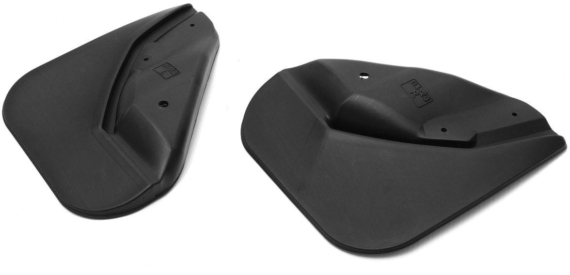 Комплект задних брызговиков Rival, для Volkswagen Jetta 2014, 2 шт25802002Брызговики Rival защищают покрытие автомобиля от грязи, мусора и посторонних предметов, летящих из-под колес вашего автомобиля во время движения.- Брызговики изготовлены из высококачественного, нетоксичного и экологичного материала, что делает их стойкими к перепадам температур, а также придает эластичность.- Отлично вписываются во внешний облик автомобиля, выглядят как естественное продолжение колесной арки.- Надежно фиксируются в штатные технологические отверстия.В комплекте крепления и инструкция по установке. Уважаемые клиенты! Обращаем ваше внимание, что брызговики имеют форму, соответствующую модели данного автомобиля. Фото служит для визуального восприятия товара.