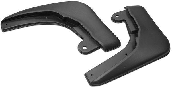 Комплект передних брызговиков Rival, для Nissan Sentra 2014-, 2 шт24106001Брызговики Rival защищают покрытие автомобиля от грязи, мусора и посторонних предметов, летящих из-под колес вашего автомобиля во время движения.- Брызговики изготовлены из высококачественного, нетоксичного и экологичного материала, что делает их стойкими к перепадам температур, а также придает эластичность.- Отлично вписываются во внешний облик автомобиля, выглядят как естественное продолжение колесной арки.- Надежно фиксируются в штатные технологические отверстия.В комплекте крепления и инструкция по установке.Уважаемые клиенты! Обращаем ваше внимание, что брызговики имеют форму, соответствующую модели данного автомобиля. Фото служит для визуального восприятия товара.